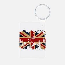 United Kingdom Flag Keychains