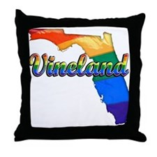 Vineland, Florida, Gay Pride, Throw Pillow