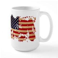 United States Flag Large Mug
