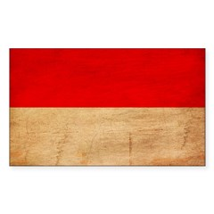 Monaco Flag Decal