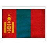Mongolia Flag Small Poster