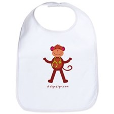 Monkey Medical Professional Bib