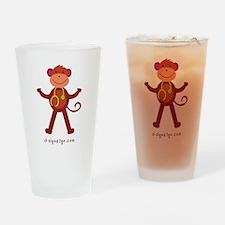 Monkey Medical Professional Drinking Glass