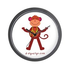 Monkey Medical Professional Wall Clock