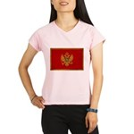 Montenegro Flag Performance Dry T-Shirt