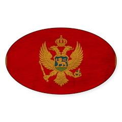 Montenegro Flag Decal