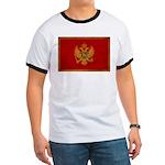 Montenegro Flag Ringer T