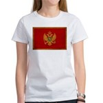 Montenegro Flag Women's T-Shirt