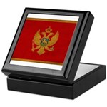 Montenegro Flag Keepsake Box