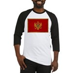 Montenegro Flag Baseball Jersey