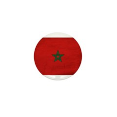 Morocco Flag Mini Button (100 pack)