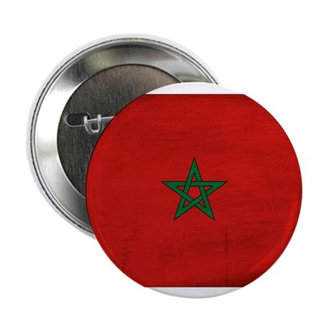 """Morocco Flag 2.25"""" Button (100 pack)"""