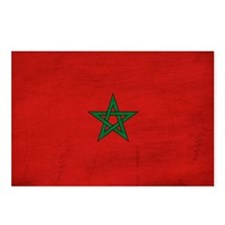 Morocco Flag Postcards (Package of 8)