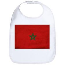 Morocco Flag Bib
