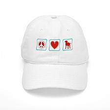 Peace Love Labrador Retrievers Baseball Cap