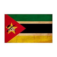 Mozambique Flag 38.5 x 24.5 Wall Peel
