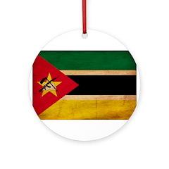 Mozambique Flag Ornament (Round)