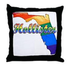 Hollister, Florida, Gay Pride, Throw Pillow