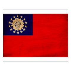 Myanmar Flag Posters