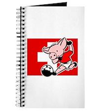 Switzerland Soccer Pigs Journal