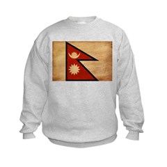 Nepal Flag Sweatshirt