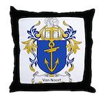 Van Noort Coat of Arms Throw Pillow