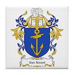 Van Noort Coat of Arms Tile Coaster