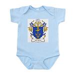 Van Noort Coat of Arms Infant Creeper