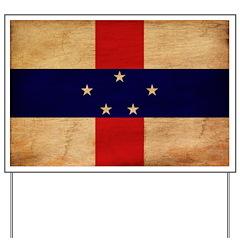 Netherlands Antilles Flag Yard Sign