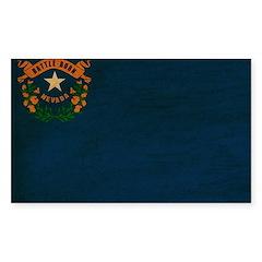 Nevada Flag Decal