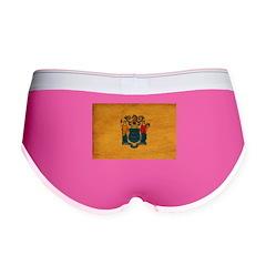 New Jersey Flag Women's Boy Brief