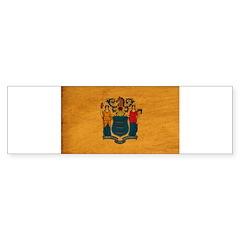 New Jersey Flag Sticker (Bumper)