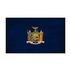 New York Flag 38.5 x 24.5 Wall Peel