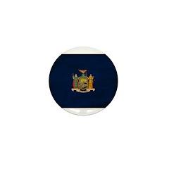 New York Flag Mini Button (10 pack)