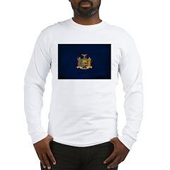 New York Flag Long Sleeve T-Shirt