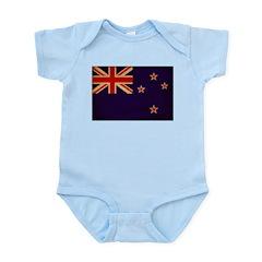New Zealand Flag Infant Bodysuit