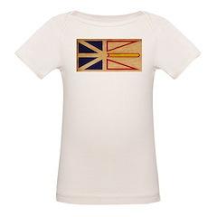Newfoundland Flag Organic Baby T-Shirt