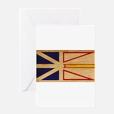 Newfoundland Flag Greeting Card