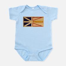 Newfoundland Flag Infant Bodysuit