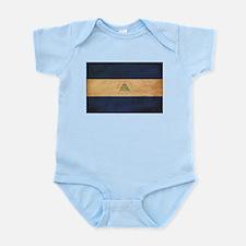 Nicaragua Flag Infant Bodysuit