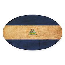 Nicaragua Flag Decal