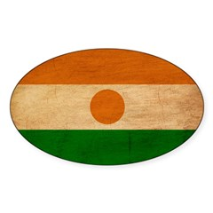 Niger Flag Decal