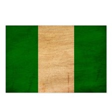 Nigeria Flag Postcards (Package of 8)