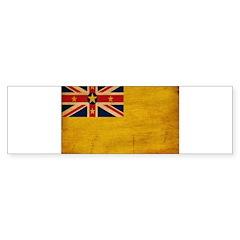 Niue Flag Sticker (Bumper 50 pk)