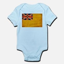 Niue Flag Infant Bodysuit
