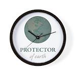 Protector of Earth Wall Clock
