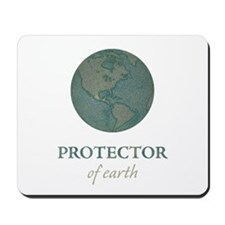 Protector of Earth Mousepad