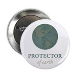 """Protector of Earth 2.25"""" Button"""