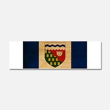 Northwest Territories Flag Car Magnet 10 x 3