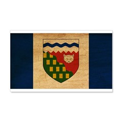 Northwest Territories Flag 22x14 Wall Peel